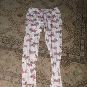 Winter dachshund Justice leggings